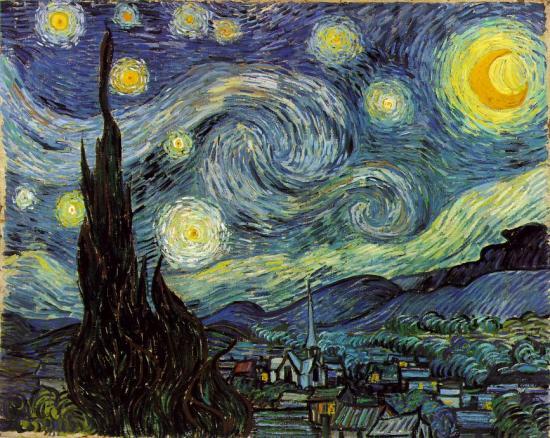 Van Gogh, Noche estrellada
